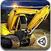 3D重型挖掘机停靠-专辑小游戏